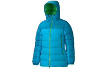 Marmot Mountain Donsjas Dames blauw